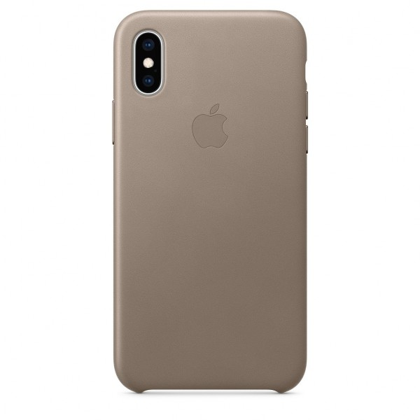 iPhone XS Max Leather Case Taupe MRWR2FE/A
